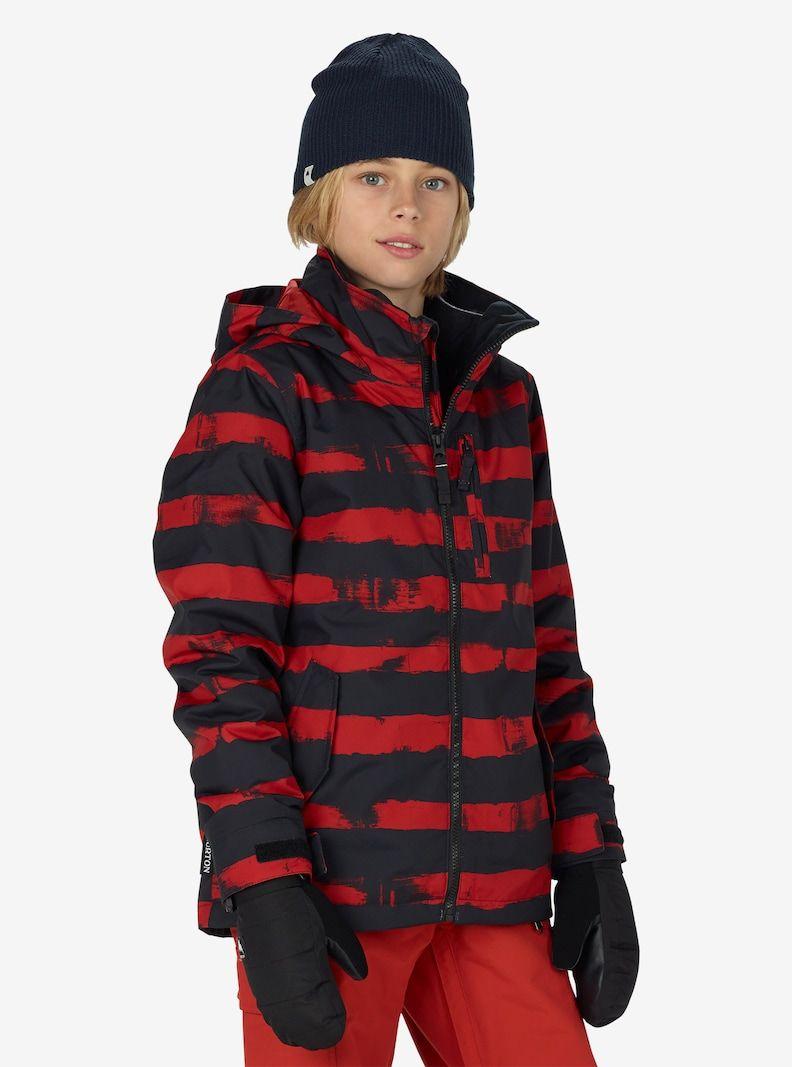 Boys Burton Link System Jacket Shown In Bitters Mean Streak True Black Jackets Youth Jackets Outerwear Jackets [ 1067 x 792 Pixel ]