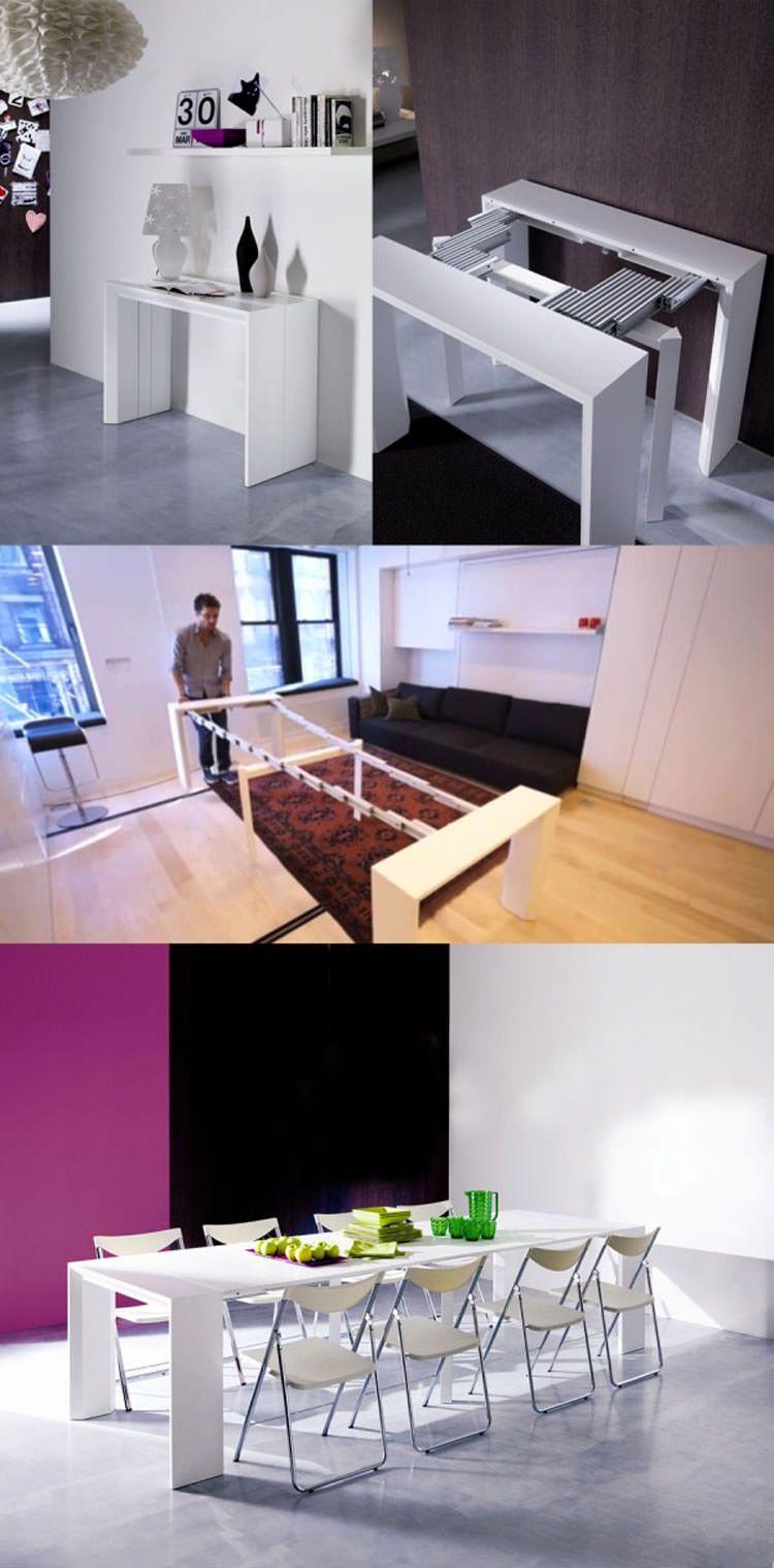 30 Tavoli Allungabili Moderni dal Design Particolare | Platzsparende ...