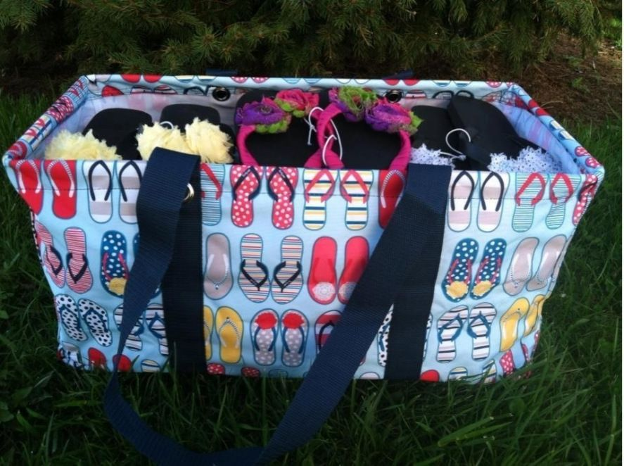 How many plastic eggs do you think the Large Utility Tote can hold ...