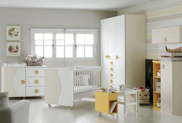 Pin de muebles ros en cunas dormitorios infantiles for Muebles infantiles ros