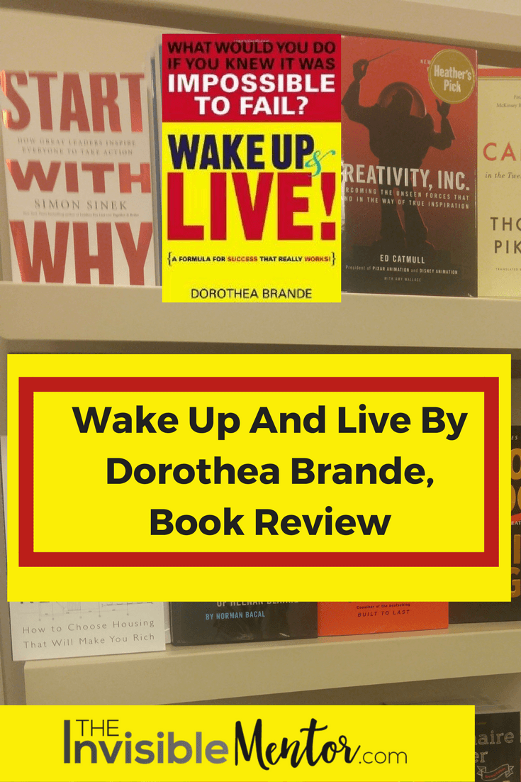 Wake Up And Live Book