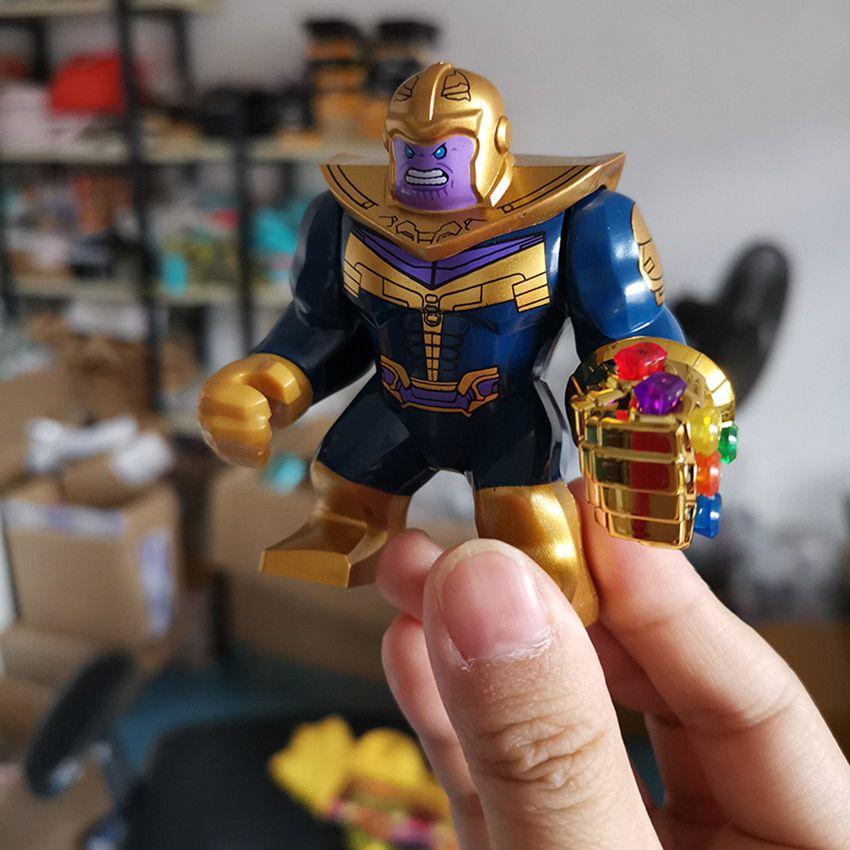 Marvel Thanos Mini Figure Avengers Infinity Gauntlet Super Heroes UK Seller