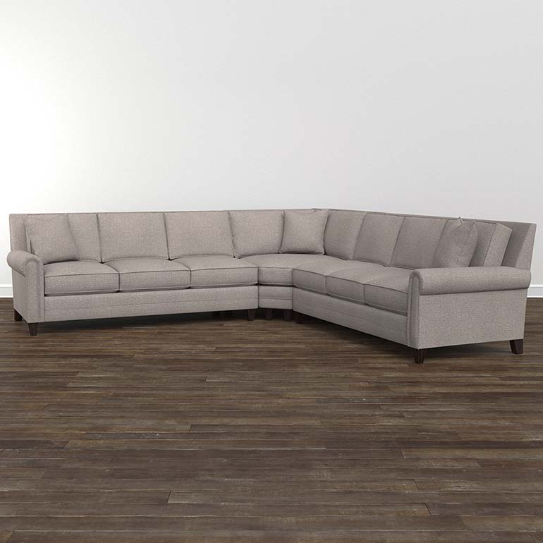Harlan Large L Shaped Sectional Large Sectional Sofa Large