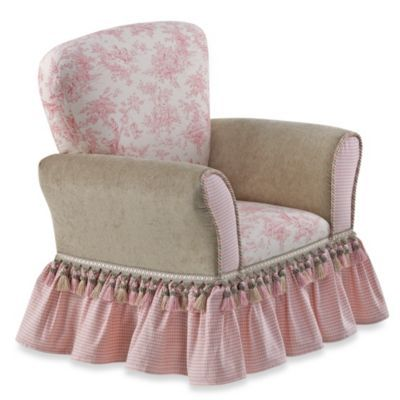 Glenna Jean Isabella Upholstered Child S Rocker