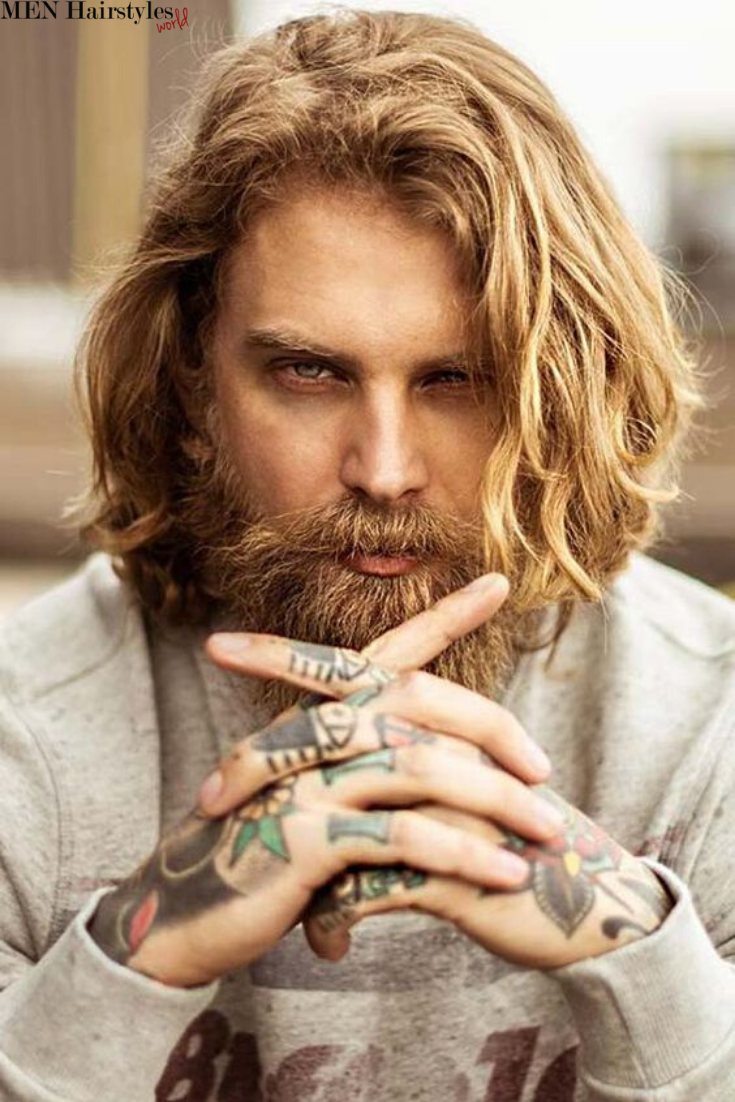 Long hairstyles for men look amazing and longer hair is something that should be treasured! Click to find out 55 Cool & Extravagant Long Hairstyles for Men! #hairandbeardstyles