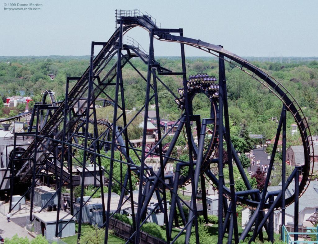 Batman: The Ride - Six Flags Great America | Roller ...