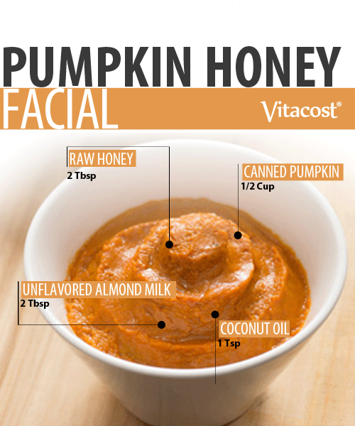 DIY Pampering Pumpkin-Honey Facial #diybeauty