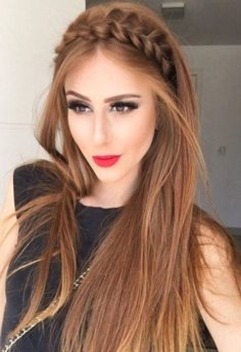 Ladies Brown Long Hairs Provestyles Party Hairstyles For Long Hair Hair Styles Party Hairstyles