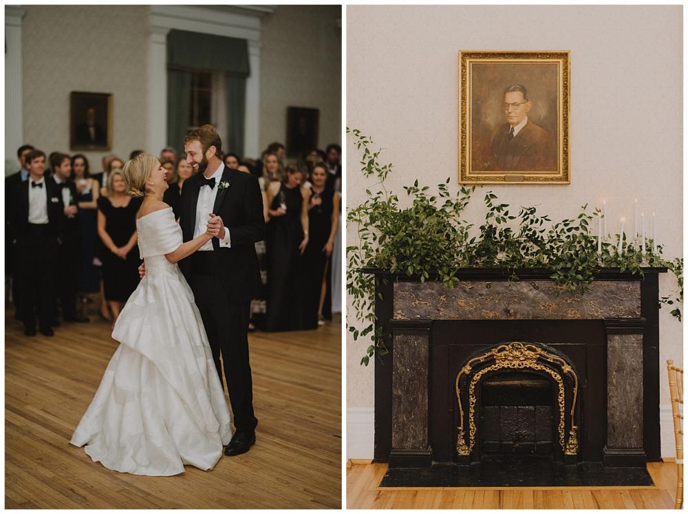 Mary Lake & Tyler Charleston weddings magazine, Wedding