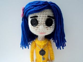 Amigurumi Wybie Doll : Crochet coraline doll pattern almost as good as if i found a