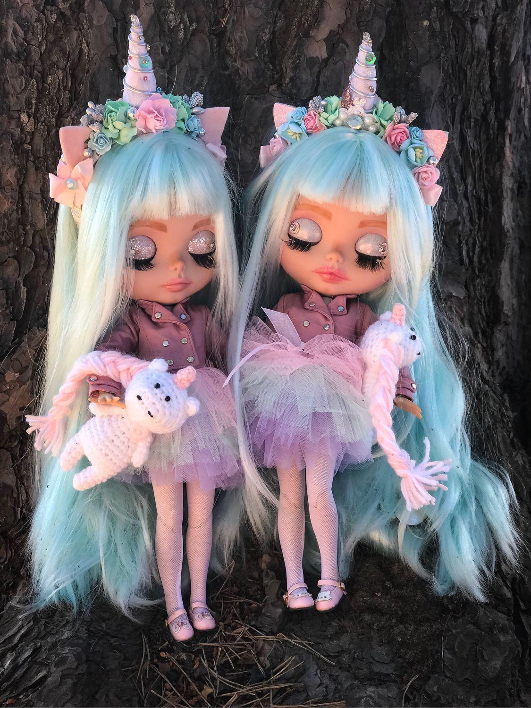 Кукла Блайз(blythe)- куколки с розовыми или мятными ...