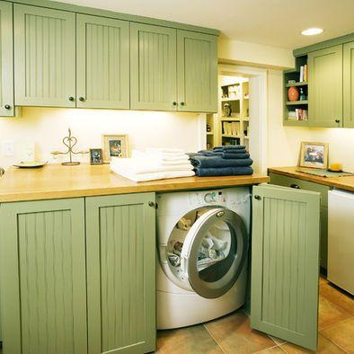 hidden washer | laundry room design, laundry mud room