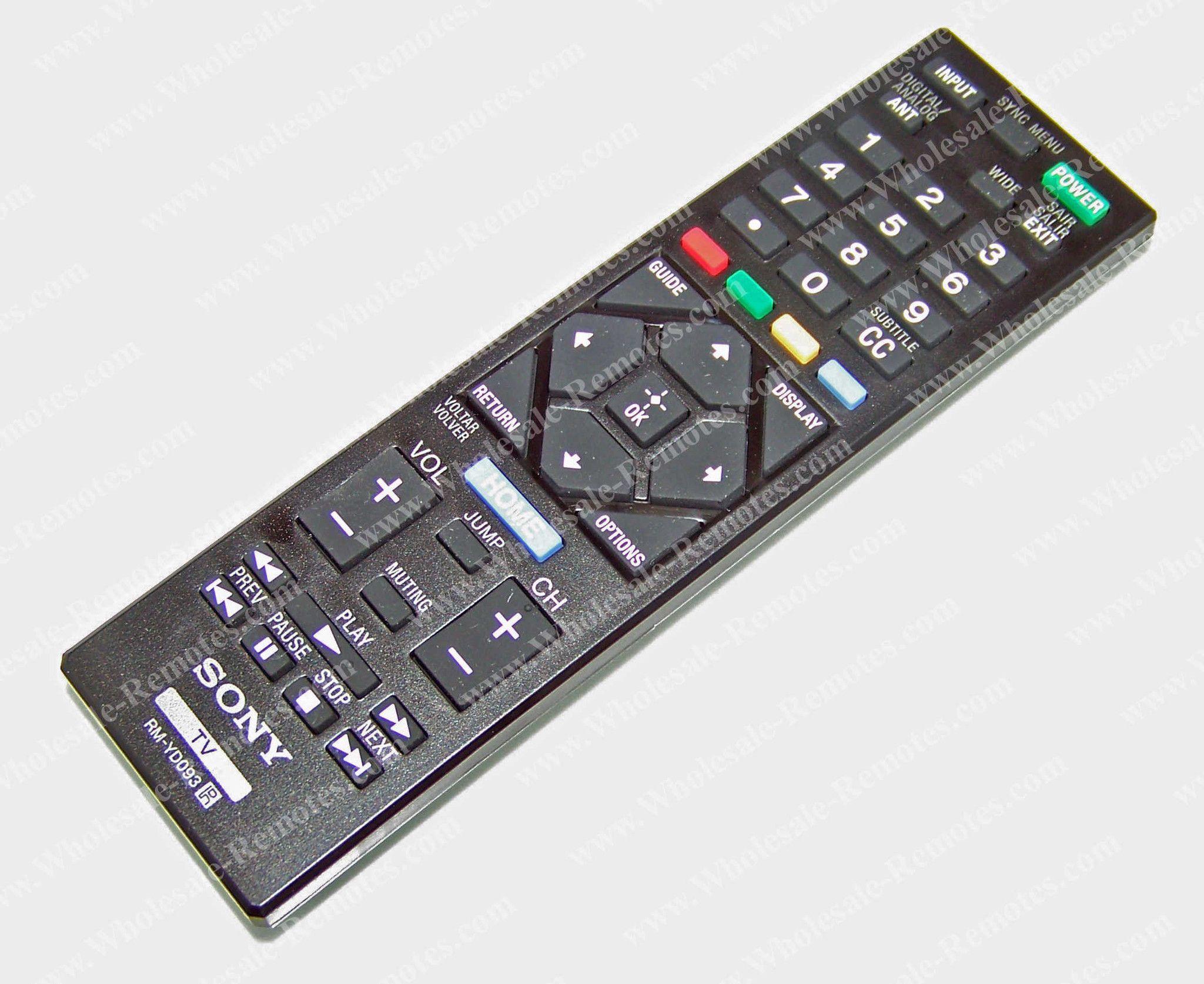 149206621 Sony Remote Control
