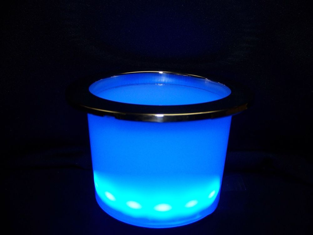 Details about Pontoon Lighted Cup Holder | My Pontoon boat