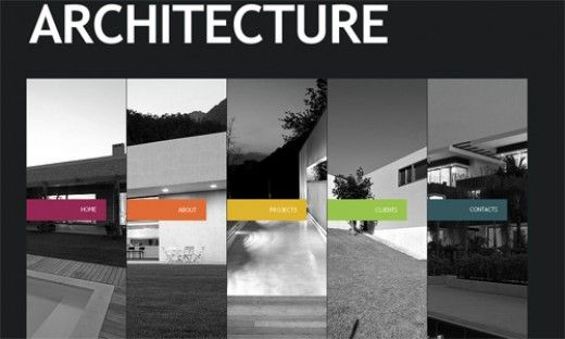 flash templates for architecture companies | architecture