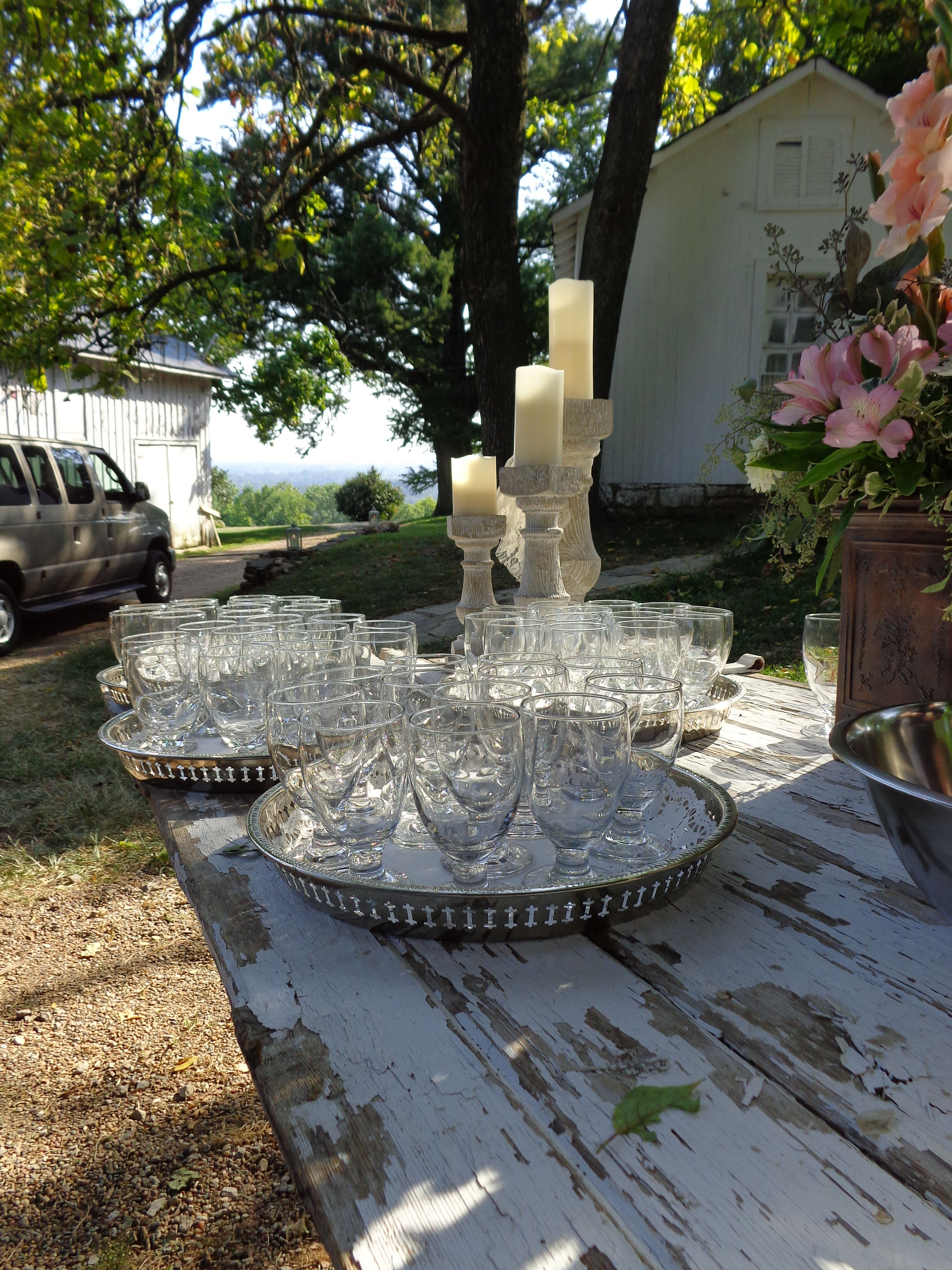 Signature drinks at Historic Bell Hill Bed and Breakfast