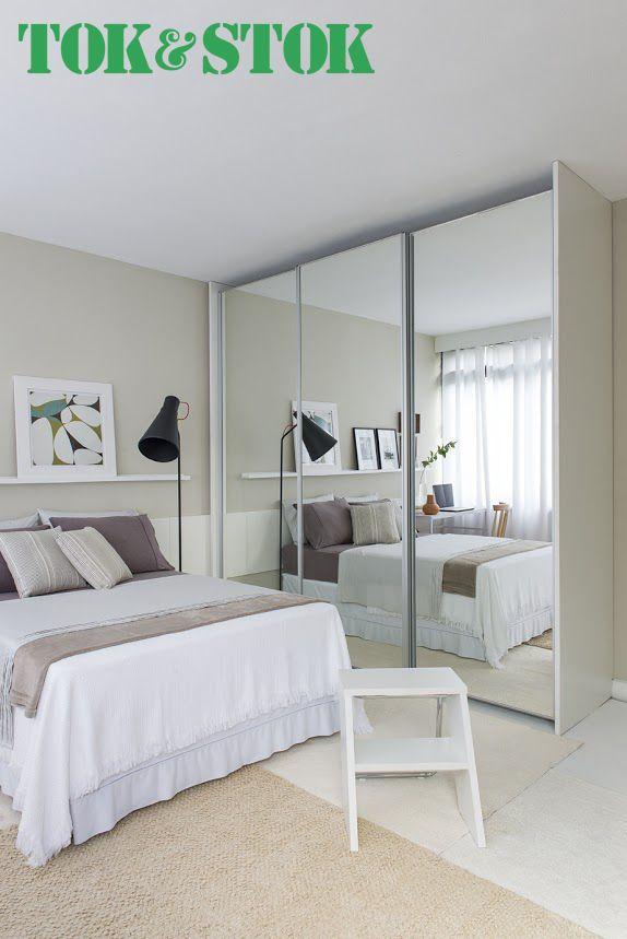 Dicas para decorar um quarto pequeno  Bedroom  Quartos, Quarto decorado e Quarto de casal  -> Decoração De Quarto Simples E Pequeno