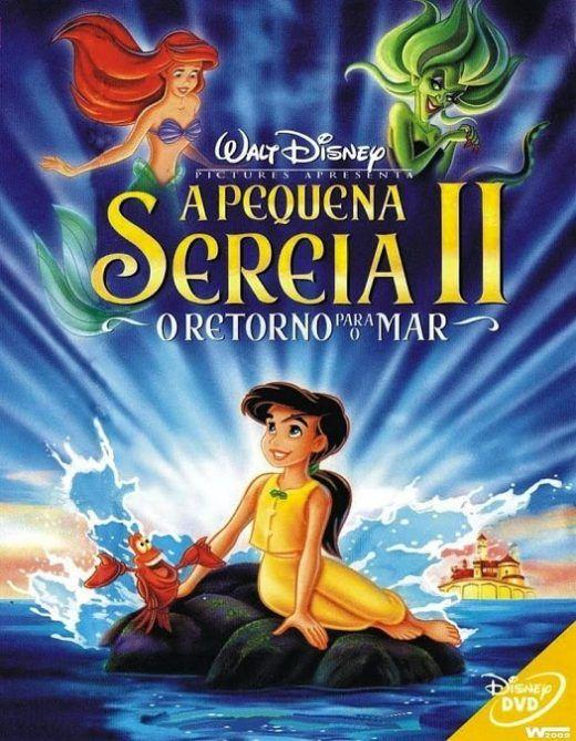 A Pequena Sereia 2 O Retorno Para O Mar Dublado Filmes De