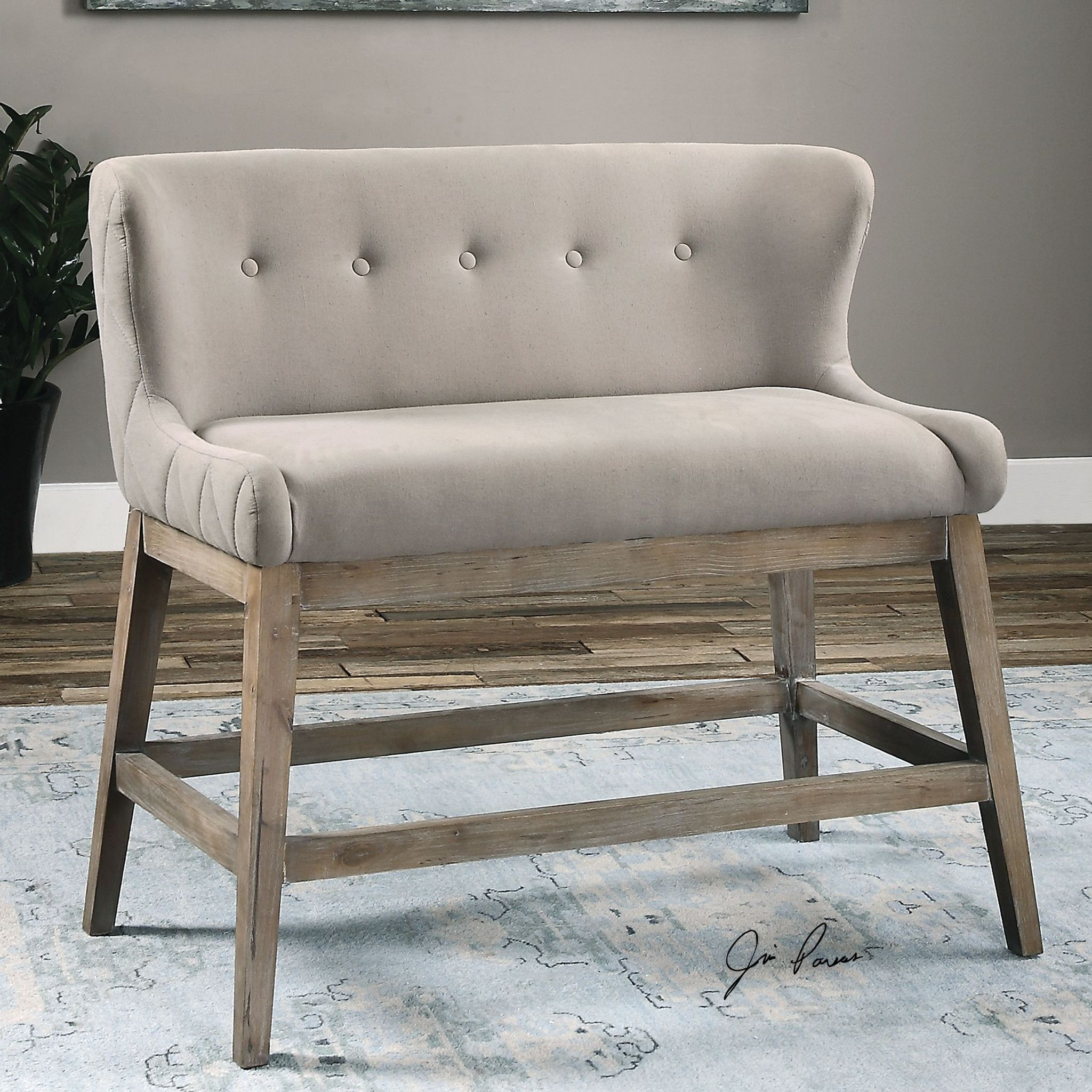 Dalena Double Counter Stool southern ELEVATION