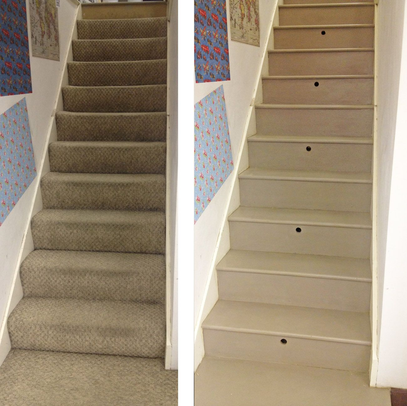 Annie Sloan Chalk Paint On Stairs To Reduce Drying Time
