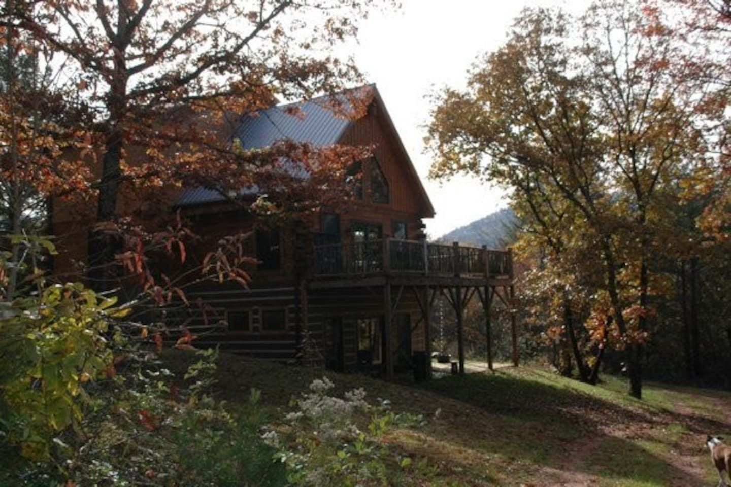 Rustic Log Cabin Rural Private Cabins For Rent In Otto North Carolina 55 Night Recommended By Simone D S Friend Dev Cabin Vacation Log Cabin