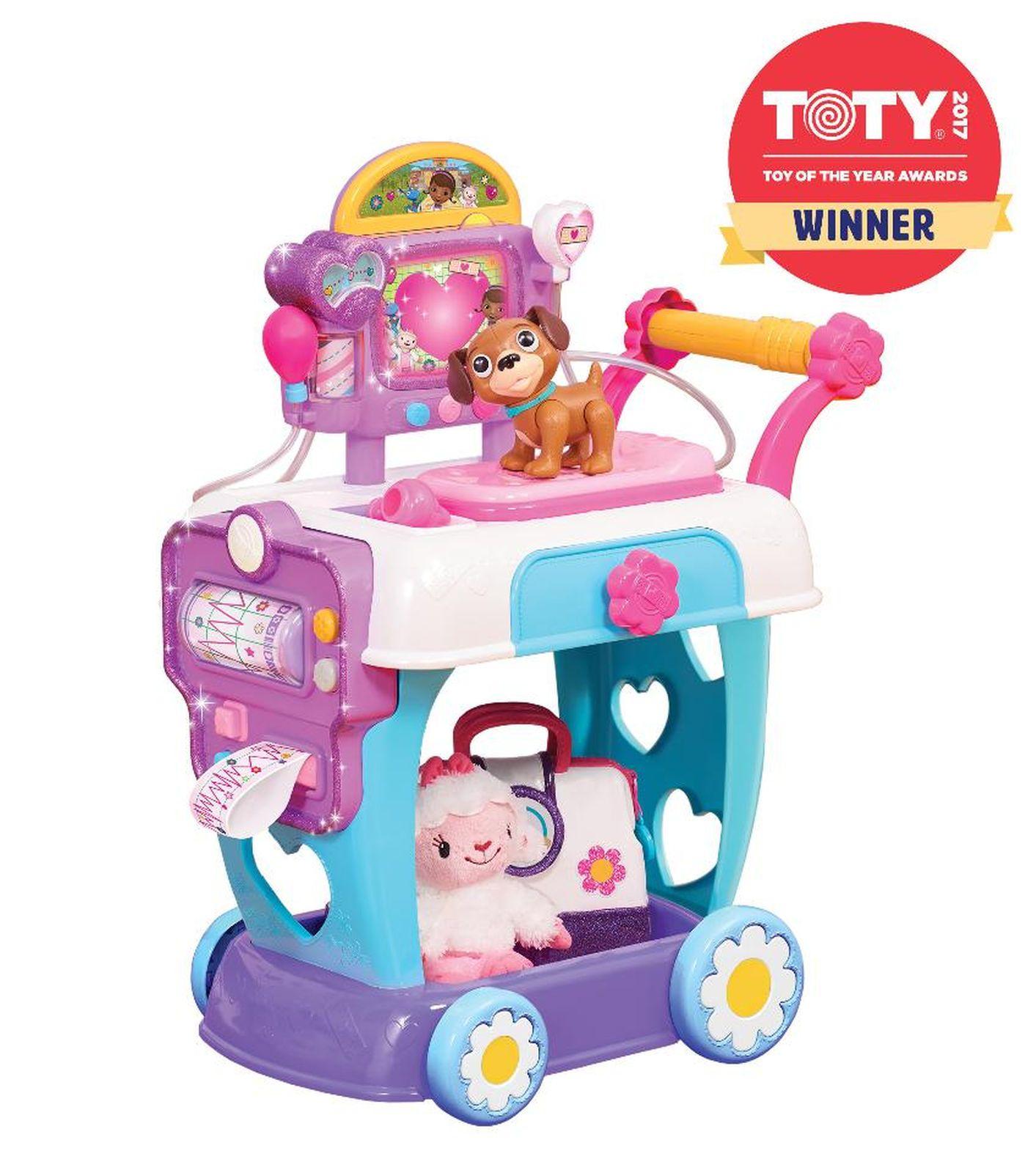 Disney Junior Doc Mcstuffins Toy Hospital Care Cart