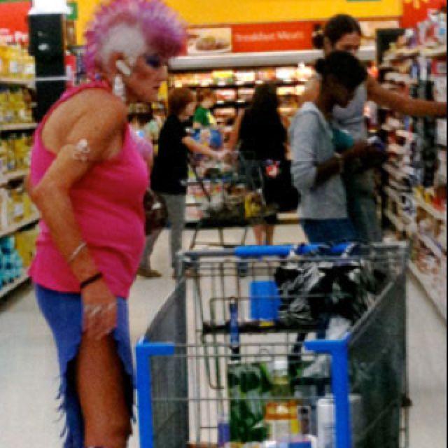 Seen Your Grandma At Walmart