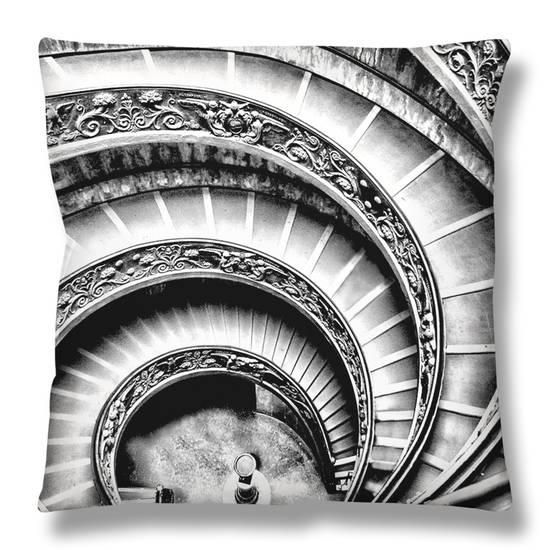 Spiral Staircase Throw Pillow by Andrea Costantini at AllPosters.com