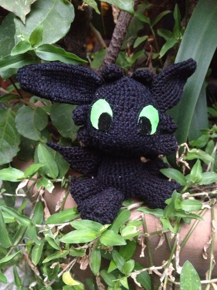 Toothless Chimuelo Knit Knit My Amigurumis Pinterest