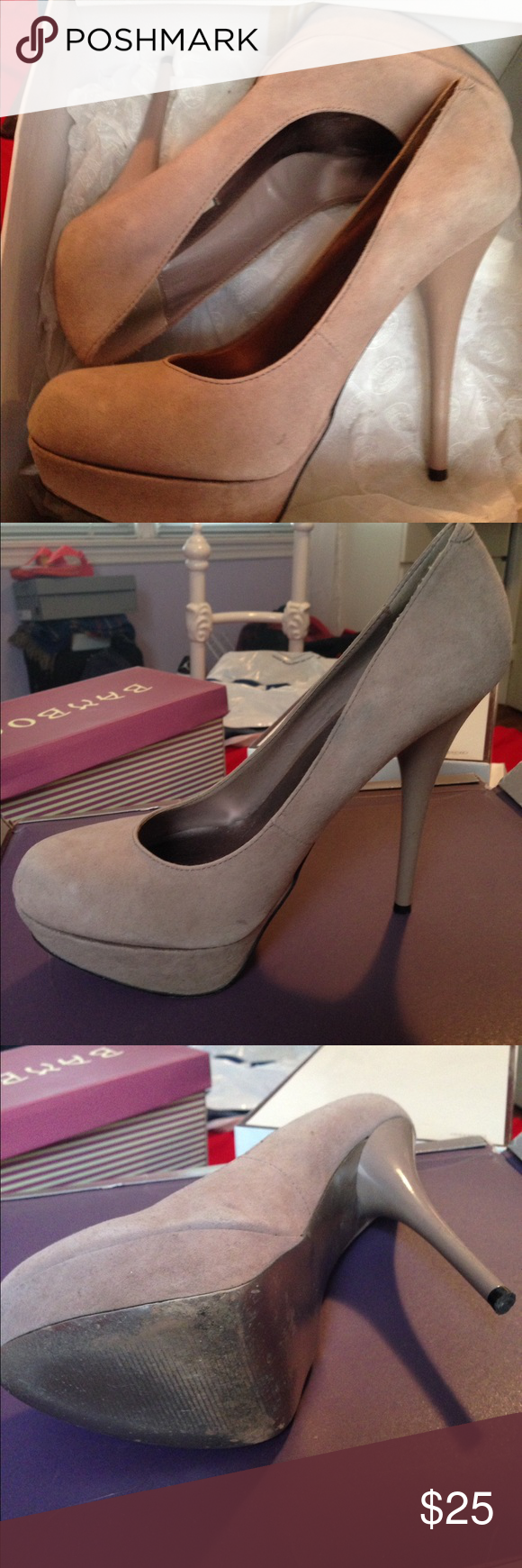 Steve Madden pumps Beautiful pumps by Steve madden size 8 1/2, in excellent condition only worn twice Steve Madden Shoes Heels
