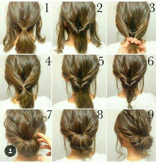 Pin Von Stephanie Picard Auf Hair Hochsteckfrisuren Lange Haare Braune Haare Frisuren Frisur Hochgesteckt