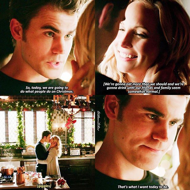 "TVD [8x07] Idk if I liked this episode or not but Damon is being so annoying and I feel so bad for Stefan :( I'll post my recap tomorrow! Ugh the quality keeps dying every time I post — Comment """" if you ship Steroline"