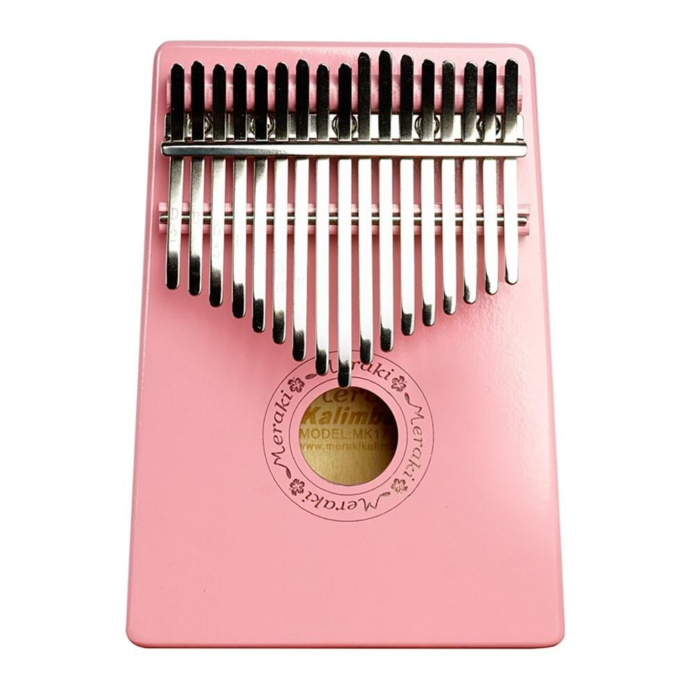 Photo of Pink Meraki Kalimba 17 Key Thumb Piano