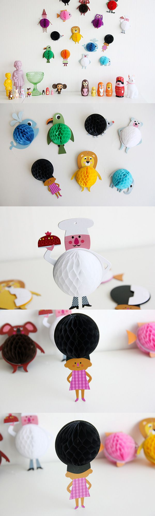 [텐바이텐] ingela Honeycomb Parade 모빌(3type).  Desire for Design  Pinterest ...