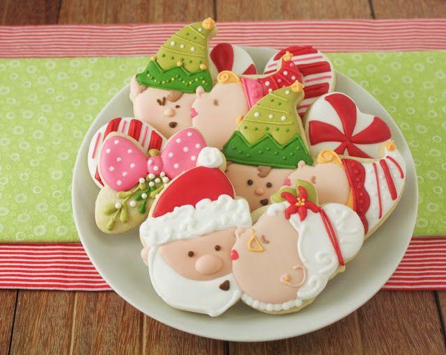 Kissy Elves Christmas Cookie Tutorial