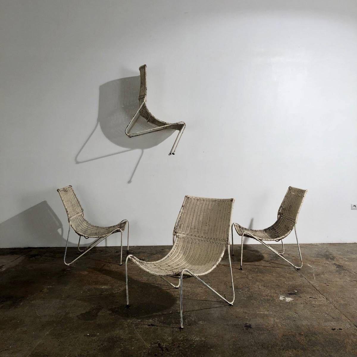 Vintage Rattan Chairs Fauteuil Vintage Fauteuil Vintage