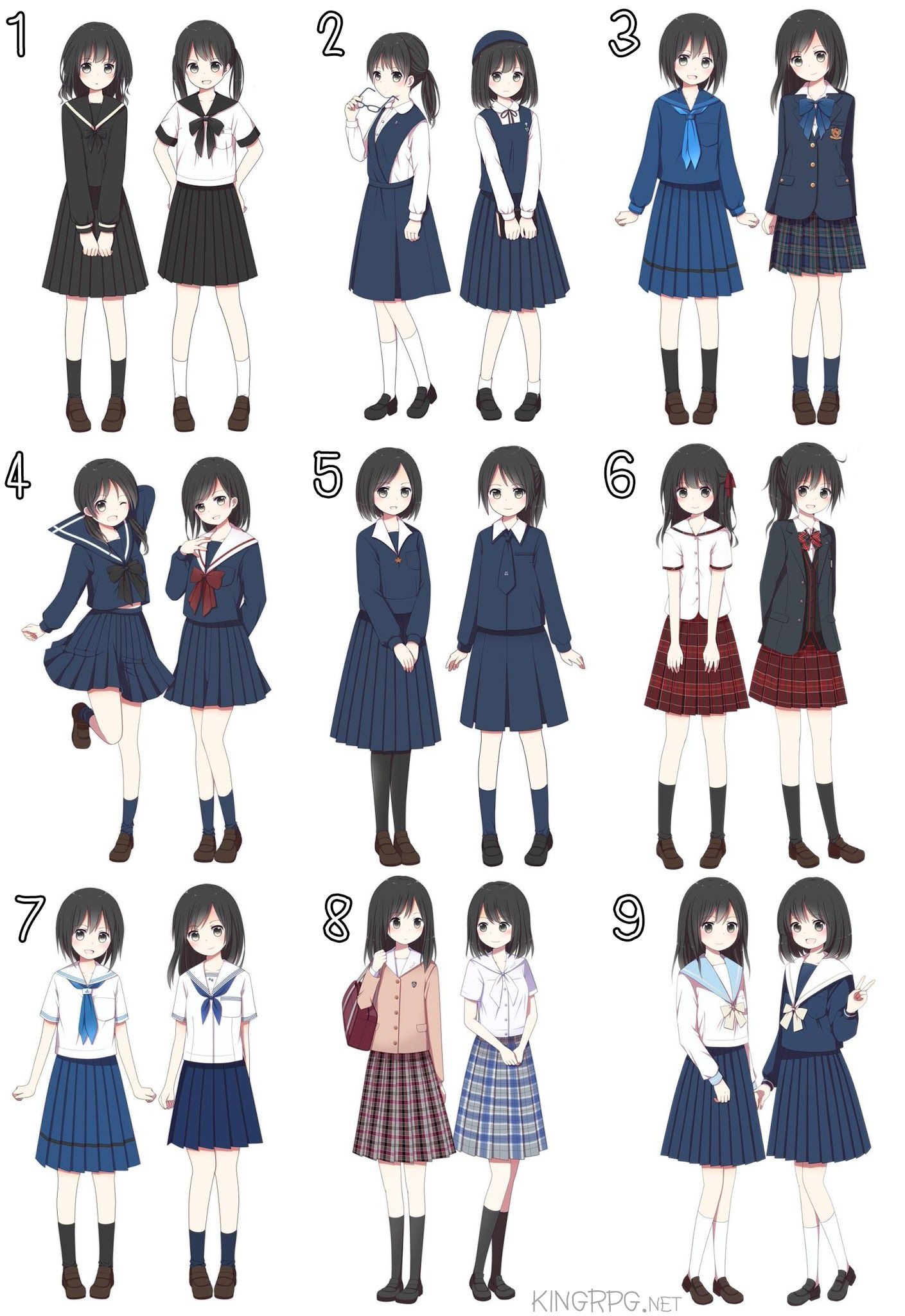 Pin By Vanessa C On Reference Inspiration Anime Outfits Manga