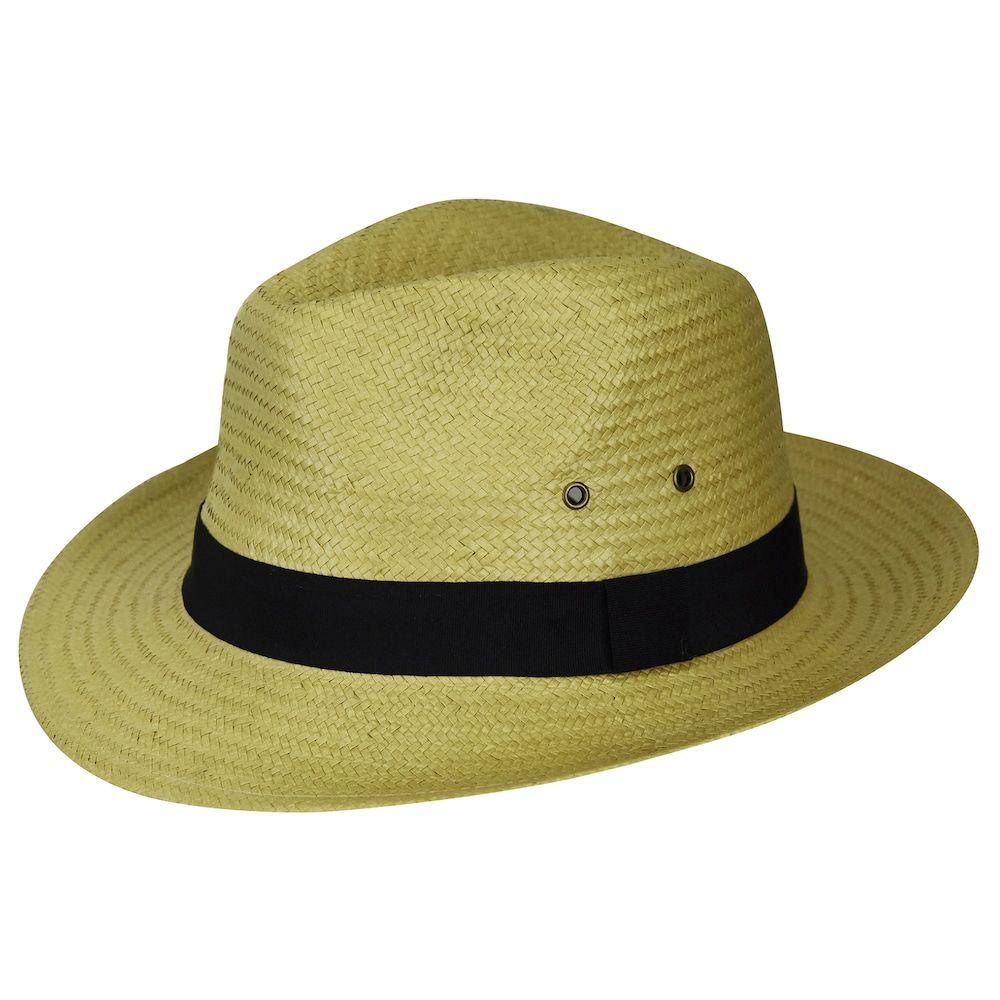 d77f270d1cb8b6 Men's Country Gentleman Fedora Sun Hat | Products | Straw fedora ...