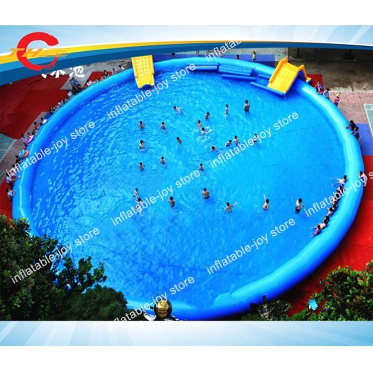 Commercial kids and Adults inflatable swimming pool,15*1mH/20*1.3mH ...