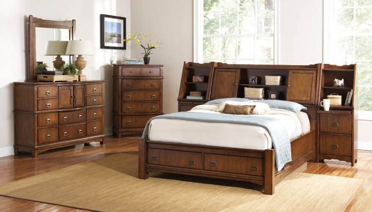 Grendel Pc Storage Bedroom Set