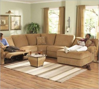 Berkline 40080 sectional pressback chaise with recliner for Berkline chaise lounge