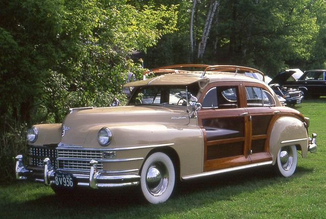 1948 Chrysler Town Country Sedan With Images Classic Cars