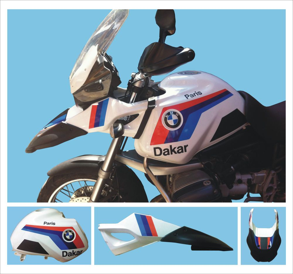 Details About Bmw R 1150 Gs Adventure Paris Dakar Stickers