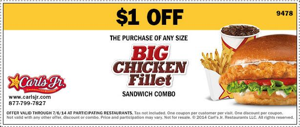 Check out offers from Carls Jr. using GeoQpons app on your