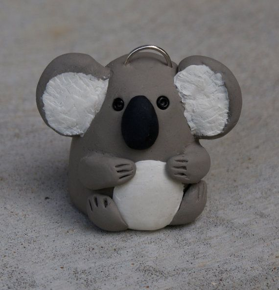 Finger Puppet Pendant (Koala Bear)  (An exclusive design of Magpie Designs. Copyright, 2013. All Rights Reserved.)