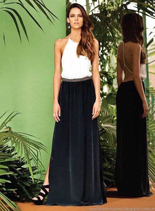 3d12e91a3 look formal con maxi faldas - Buscar con Google | maxifaldas ...