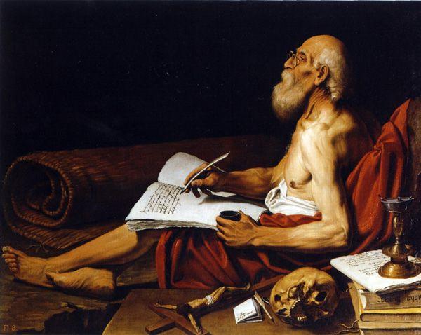 Lionello Spada San Girolamo 1610 Gentileschi Artemisia
