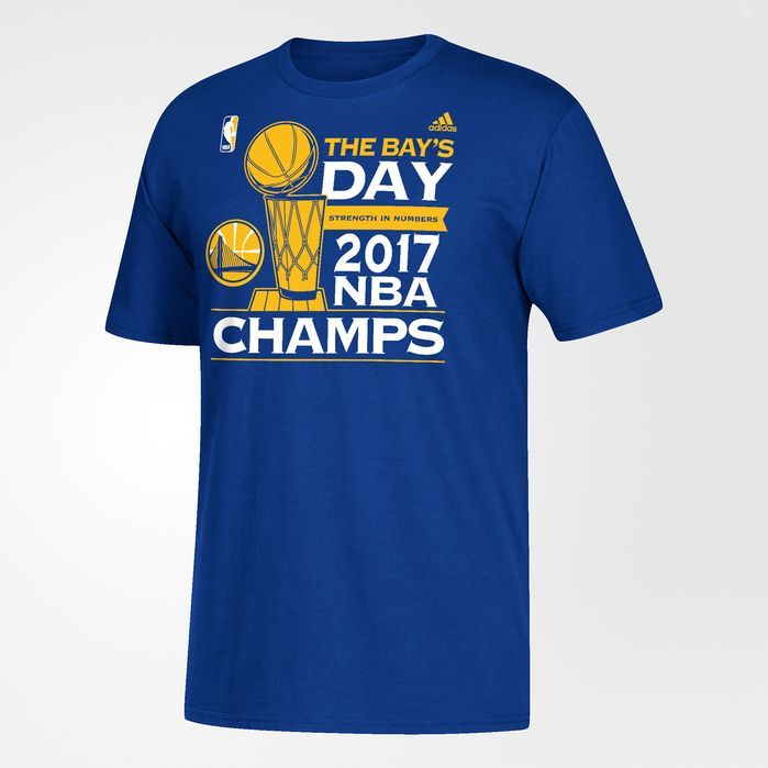 outlet store c9991 9ec24 adidas Warriors Bays Day Tee - Mens Basketball T Shirts