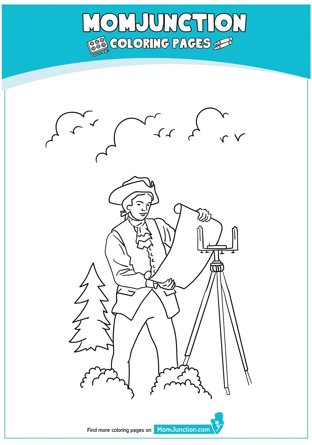 Father Of Our Country 17 Coloring Pages Color Healthcare Professionals