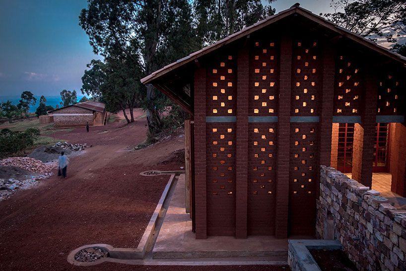 'library of muyinga' by bc architects, muyinga, burundi